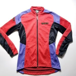 VINTAGE Descente Cycling Jersey Top